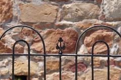 HFF Tomb of Captain Francis Evatt (Omunene) Tags: fence fencefriday tomb captainfrancisevatt commandant fortfrederick donkinreserve portelizabethsouthafrica finial wroughtiron