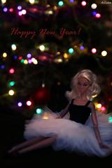 Poppy Parker Sweet Confection (ArLekin26113) Tags: poppyparker sweetconfection ballerina ballet christmastree christmas newyear garland lights blonde integrity fashionroyalty fashiondoll jasonwu