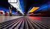 The lack of a tripod (katrin glaesmann) Tags: hamburg germany tube metro ubahn station ubahnhof hvv u4 hafencityuniversität colour train moving photowalkwithmichael fotowalkmitmichael fotowalkmitmichio