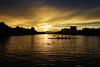 Sunset of boatcourse (huzu1959) Tags: a7ii alpha7ii sonya7ii alphaa7ii sonyalpha7ii sonyalphaa7ii sony toda saitama japan sunset dusk cloud boatcourse boatcouse water