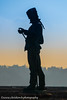 Hussar statue (www.chriskench.photography) Tags: hungary xt2 copyright travel 18135 wwwchriskenchphotography kenchie europe fujifilm budapest hu sunset silhouette soldier sword profile military