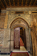 Doorway (Filippo M. Conte) Tags: cairo egypt holiday christmas travel art architecture islamic door wood gold