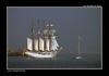 Juan Sebastián Elcano saliendo de Bilbao. (jmadrigal09) Tags: jmadrigal mar marina sea barco boat ship velero españa cantábrico bilbao juansebastiánelcano