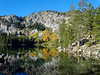 Beauty Reflected, Lake George, CA 2016 (inkknife_2000 (8.5 million views +)) Tags: mammothlakes lakegeorge fallfoliage waterreflections dgrahamphoto usa landscapes bluesky stillwater california sierranevada mountains alpinelakes