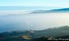 The First Sunrise of 2018 in the Mission Peak (katiewong511) Tags: sunrise 2018 missionpeak fremont fog trails hiking bayarea sanfrancisco ebparksok california hill landscape scenery