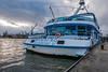 Grosse Hafenrundfahrt (Mona Monday (CThomsen)) Tags: elbe hamburg windig kalt outdoor hafen landungsbrücken hafenrundfahrt