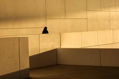 Abu Dhabi, United Arab Emirates (gstads) Tags: abudhabi uae unitedarabemirates arabia arabian museum architecture line lines geometry geometric louvre emirates wall sunlight muslim islam islamic