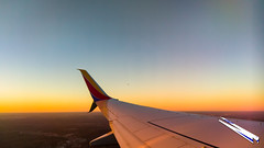 20180106-IMAG1327 (TheFalcon5506) Tags: 737700 boeing nashville tennessee airline airplane outside sky sunset trip wing wingtip