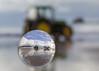 Crystal Ball photography (jodiemasterman) Tags: crystalball spherical reflection reflective landscape seascpae