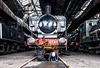 Men at work (Peter Leigh50) Tags: gwr pannier tank locomotive mpd engine shed museum railway people fuji fujifilm xt10