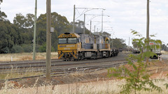 Driver Tag. (Jungle Jack Movements (ferroequinologist)) Tags: driver team swap double parkes terminal new south wales nsw nswgr nswr nr an an1 nr35 nr56 port botany australia australian locomotive loco locos power grunt performance diesel electric rail railway railroad rails line bogie engineer train engine appliance kw traction run freight load pull gunzel gunzelling gunzeller transit authority 列車 培养 la traîne die eisenbahn treno el tren электровоз 内燃机车 station set platform pickup carriage trip stabled ballast class livery pn pacific national