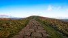 Pathway to the trig point... (Lee~Harris) Tags: path stones sky morning walking pov grass light landscape outdoor beauty peakdistrict mamtor england uk