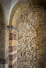 Traces of older structure (Tigra K) Tags: verona veneto italy it 2011 architecture church column interior monochrome rock romanesque ruin shape texture wall pattern arch