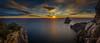 El tiempo que nos arrastra... (ANGELS ARALL) Tags: windyday viento ventoso sunset puestadesol panoramica miradordecapdellentrisca seasescape santjosep illesbalears ibiza