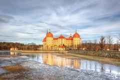 Moritzburg (Ruinenvogel) Tags: hdr winter castle schlos schloss burg sachsen saxony aschenbrödel