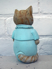 Tom Kitten (The Moog Image Dump) Tags: tom kitten beatrix potter 1991 f warne co toy squeaker vinyl figure vintage painted