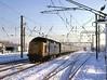 Dashing through the snow......... (Yeovil Town) Tags: deltic class55 55016 woodgreen kingscross york