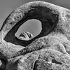 Alabama Hills - Eye Of Alabama Arch (www.karltonhuberphotography.com) Tags: 2017 alabamahills arch bw blackandwhite california easternsierra easternsierrafoothills exploring eyeofalabamaarch form geologicformation geologicwonder geology karltonhuber lonepine naturalarch naturalframe naturalwindow pareidolia rockformations rocks shadow shape texture