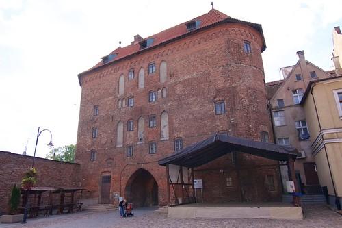 Wysoka Brama (1466-78) w Lidzbarku Warmińskim od strony miasta