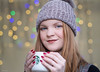 Christmas Mugshot (Silver Machine) Tags: christmas mug bobblehat winter coffee smile redhair nails fairylights bokeh bokehballs shallowdepthoffield portrait headshot naturallight fujifilm fujifilmxt10 canonfd85mmf18 makeup lifestyle