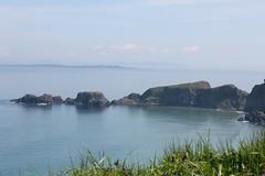 IMG_3685 (avsfan1321) Tags: ireland northernireland unitedkingdom uk countyantrim ballycastle carrickarede carrickarederopebridge nationaltrust landscape green blue ocean atlanticocean island scotland