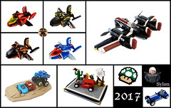a year in Lego - 2017 (Sylon-tw) Tags: 2017 ayearinlego lego mocs moc up sylon sylontw caterham monster mod truck trident tokyotagteam plane aircraft airplane agile hawk mtron ice iceplanet iceplanet2002 hotrod mario supermario agilehawk