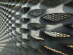 DSCF2311 (Benoit Vellieux) Tags: metal fence building gratting lyon villeurbanne ladoua tramway parking clôture zaun tcl