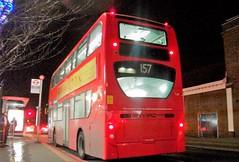 Arriva London T107 on route 157 Rose Hill 30/12/17. (Ledlon89) Tags: bus buses london transport londonbus londonbuses londontransport enviro400 arrivalondon arriva carshalton tfl transportforlondon
