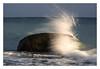 The wave (bavare51) Tags: ostsee balticsea stein welle spritzer wasser brandung
