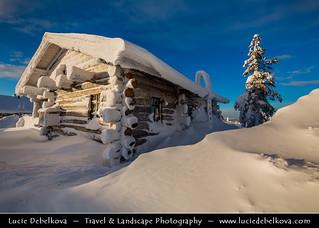 Finland - Lapland - Winter wonderland Far North beyond Arctic Circle