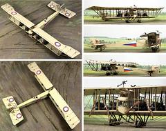 Sikorsky Type B Ilya Muromets 1916 (Franclab) Tags: aviation maquette model 172 sikorski muromets