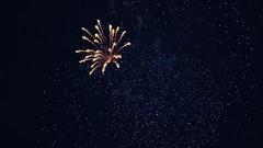 Fireworks XIX (Elisabeth Redlig) Tags: elisabethredlig scotland uk edinburgh newyear winter fireworks colours colors galaxy skies sparkles