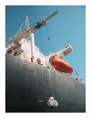 IMG_6419 by jimbonzo079 - Gulf of Oman  Fujairah  U.A.E. - 19/4/2010  Name:Brillante Virtuoso IMO:9014822 Callsign:A8XA8 Last known flag:LIBERIA Vessel type:Crude Oil Tanker Gross tonnage:80,569 tons Summer DWT:149,601 tons Length:274 m Beam:48 m Depth 23m Keel To Mast 51m Draught:16 m Status:Dead Class society:American Bureau Of Shipping Build year:1992 Builder:Samsung Shipbuilding & Heavy Industries Goeje, South Korea Owner:-  Canon Powershot A710is  www.youtube.com/watch?v=-xN0AJ6iq_g