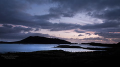 Out of the Blue (Elidor.) Tags: outerhebrides locheport sidinish northuist sunrise dawn morning scotland westernisles d90 blue cloud hill