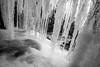 Bad Branch Falls (Jon Ariel) Tags: bw blackandwhite badbranch falls waterfall winter rabuncounty georgia ga ice