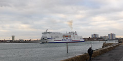 DSC_2000-1 (John.Walton) Tags: portsmouth portsmouthsouthsea cityofportsmouth hants hampshire england uk brittanyferries montstmichel roro ferry caen france northernfrance brittany departing
