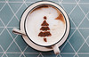 Leckerer Cappuccino mit Kakao in Gestalt eines Weihnachtsbaumes (marcoverch) Tags: natural color winter nature sweet beverage table brown background holiday hot food decoration black traditional latte chocolate cup art season closeup xmas christmas texture wooden drink symbol white tree tannenbaum espresso christmastree cappuccino form arranged design latteart coffee cafe leica bnw españa contrast boeing deutschland india countryside maitreya cold lecker kakao gestalt weihnachtsbaumes