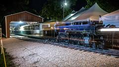 Ghost Train (dscharen) Tags: trains steam locomotives cbq 3000 sandwich fair illinois chicago burlington quincy