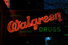 Walgreen Drugs (dangr.dave) Tags: sanantonio tx texas bexarcounty downtown historic architecture neon neonsign walgreen drugs