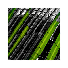 Abstract Cité du Vin (Jean-Louis DUMAS) Tags: art artist artistic artistique architecture architecte abstract abstrait abstraction colors couleur vert green bordeaux