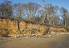 Covehithe (1stgc) Tags: covehithe suffolk 1stgc eroded beach cliffs trees sky blue