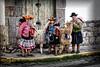 Peruvian women with alpaca (Jan Jungerius) Tags: peru cusco frauen women vrouwen alpaca nikond750 tamronsp2470mm straat strase street