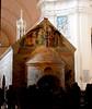 "Porziuncola Church (10th-11th century) restored about 1205 by Saint Francis, with ""Calvary"", fresco by Perugino (Città della Pieve about 1448-Fontignano 1523) - Here Saint Francis founded (year 1208) the Franciscan Order - Santa Maria degli Angeli Church (Carlo Raso) Tags: porziuncola assisi umbria church saintfrancis perugino"