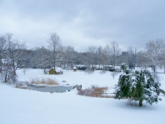Winter Landscape (Stanley Zimny (Thank You for 27 Million views)) Tags: winter snow landscape ringwood park nj seasons house