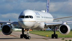 N12114 (AnDyMHoLdEn) Tags: unitedairlines 757 staralliance egcc airport manchester manchesterairport 23l