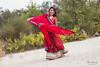 _MG_7326 - e t (Daniel JG) Tags: model modelo nepal nepali baile dancing dancer bailarina female femalemodel femme femenine beauty beautiful belle sweet smile red vestido makeup muah maquillaje maquilladora outdoors retrato portrait book shooting