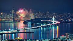 Happy New Year 2018 (davidyuweb) Tags: sanfrancisco fireworks happy new year 2018 luckysnapshot sfist