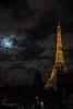 La lune a rendez vous avec la grande dame (Photoeric_) Tags: toureiffel tour ciel canon eos nuit lune moon