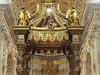 Basilica da San Pietro. (Flyingpast) Tags: vatican saintpeter basilica thebaldacchino bernini sculpture statue altar bronze columns art beautiful highaltar italy rome vacation