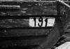 Wooden boat (black and white) (v_ash12) Tags: 1 9 aground background black boat bow coast corner design dock docked dry harbor image lines nine number one pattern port rope small snowscape stern summer texture transportation travel view white wood wooden